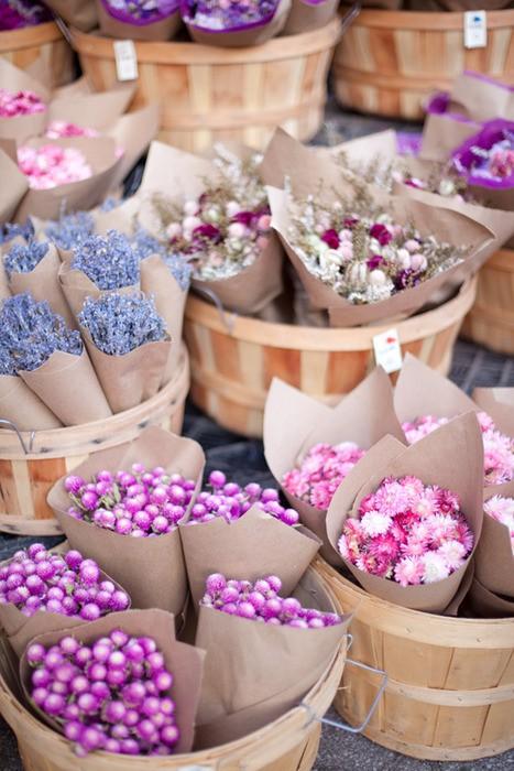 Flowersbrownpaper