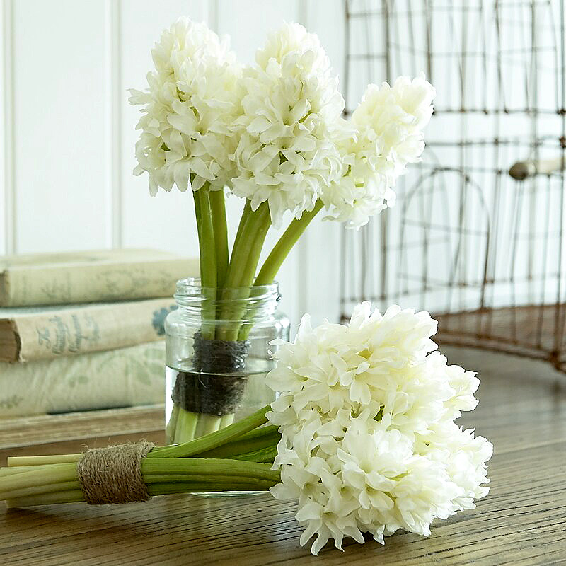 White-hyacinth-bunch-
