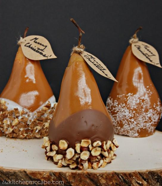 Caramel-pear-