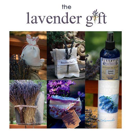 Lavendergiftbox