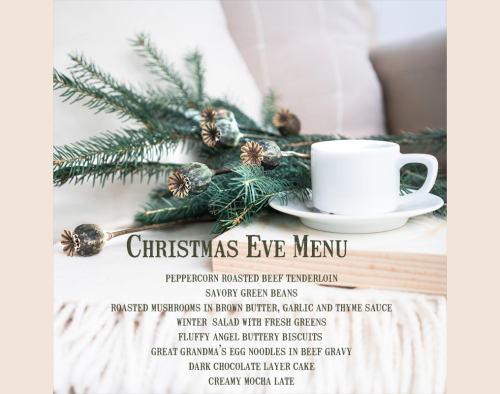 Christmaseve2018menu